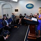 """Reporters Challenge Press Secretary Kayleigh McEnany On Donald Trump's Mail-In Ballot Tweets: """"The President Clearly Said Things … That Are Not True"""""""