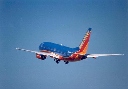 Southwest Airlines to test in-flight WiFi via satellite