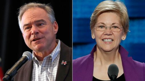 Warren Calls Kaine 'Good Man,' Declines to Say if He Was 'Right' VP Pick