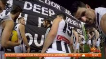 Ultimate footy experience for little boy