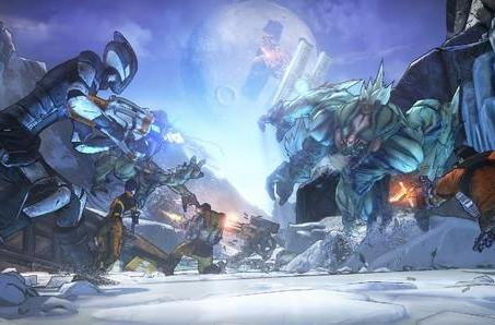 Borderlands 2: Shooting and slicing with Axton and Zero