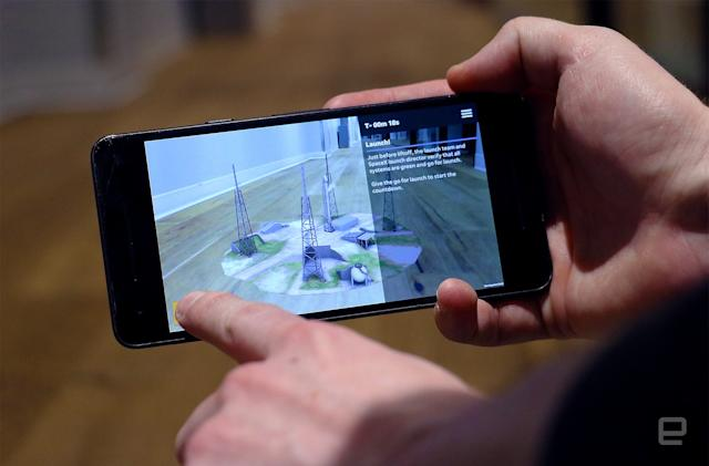 USA Today's first AR app brings a rocket launch to your table