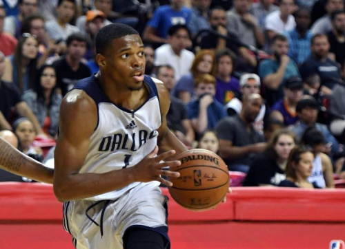 Dennis Smith Jr. has been one of the most exciting players in Vegas. (Getty Images)