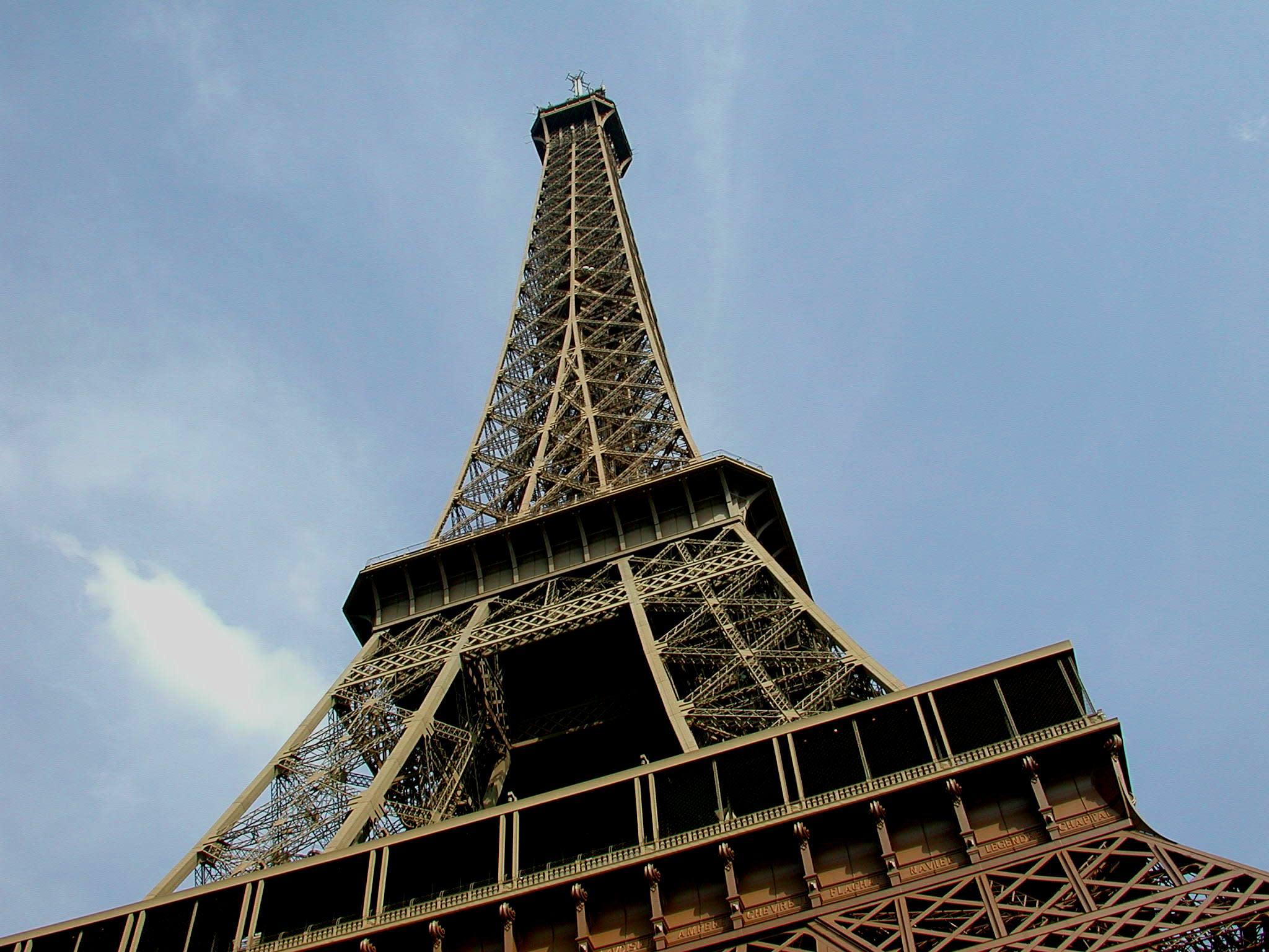 Menikmati Paris Dari Menara Eiffel