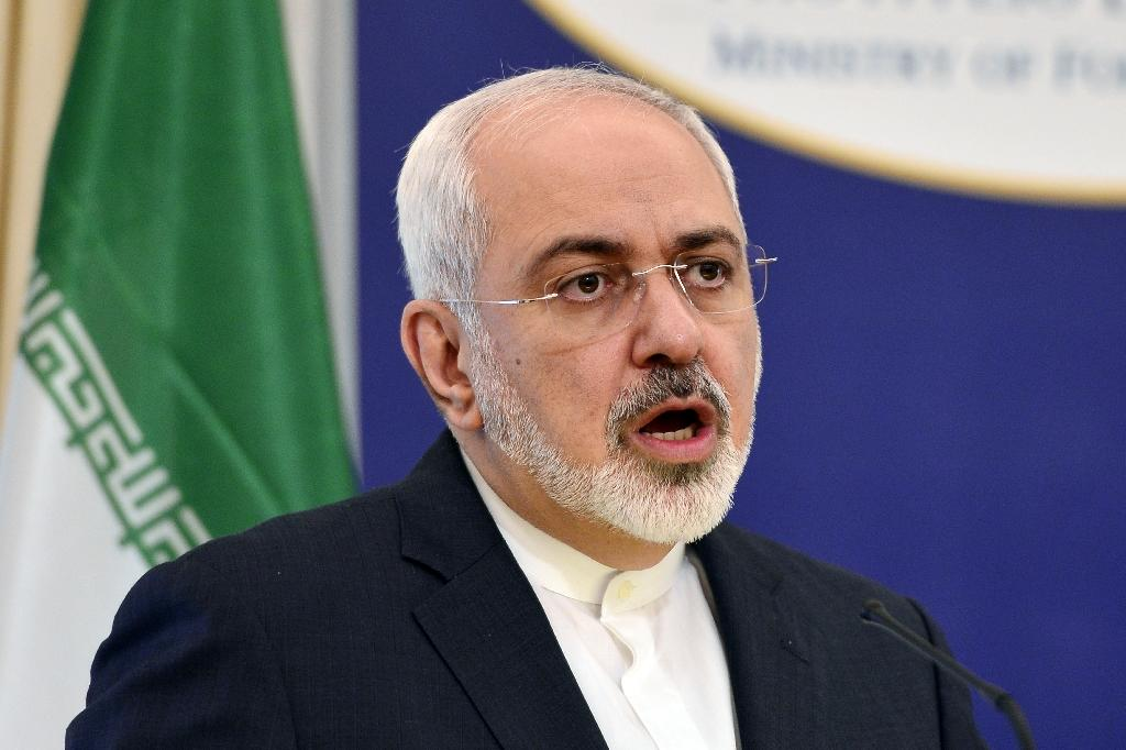 Iranian Foreign Minister Mohammad Javad Zarif will travel to Vienna Saturday to join a final push for a nuclear agreement with major powers (AFP Photo/Louisa Gouliamaki)
