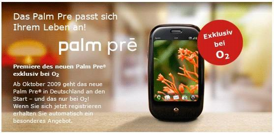 """Palm Pre official on O2 and Movistar in Europe, launch """"in time for holidays"""""""