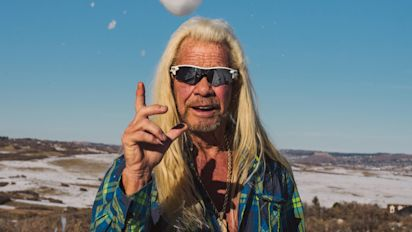Dog the Bounty Hunter is on the trail alone