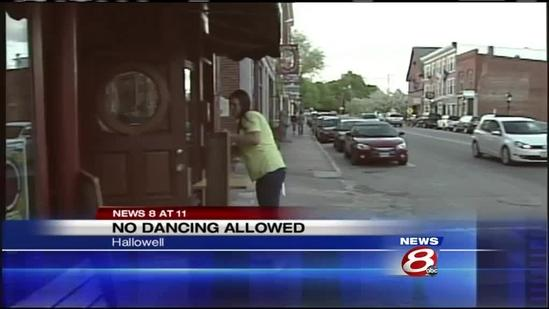 Costs of dancing hurt Hallowell businesses