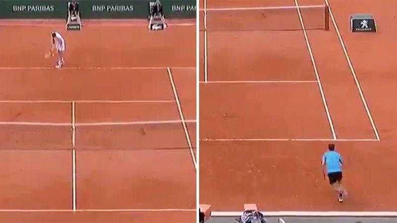 Nick Kyrgios 'imitator' bamboozles world No.4 with underarm serves
