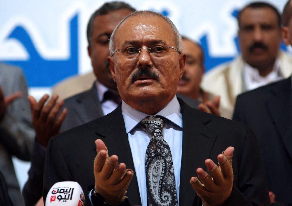 Ali Abdullah Saleh ruled Yemen from 1990-2012