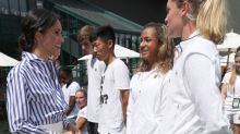 How the Duchess of Sussex's Wimbledon outfit gave a diplomatic nod to the tournament