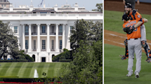 Astros manager sidesteps question about White House visit
