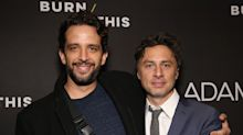 Zach Braff remembers close friend Nick Cordero's life and last days in emotional podcast