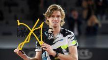 Rublev stuns Tsitsipas to lift Hamburg title