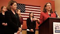 4 female military members sue to serve in combat