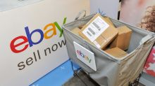 EBay shares rise after an earnings beat but Amazon still looms large
