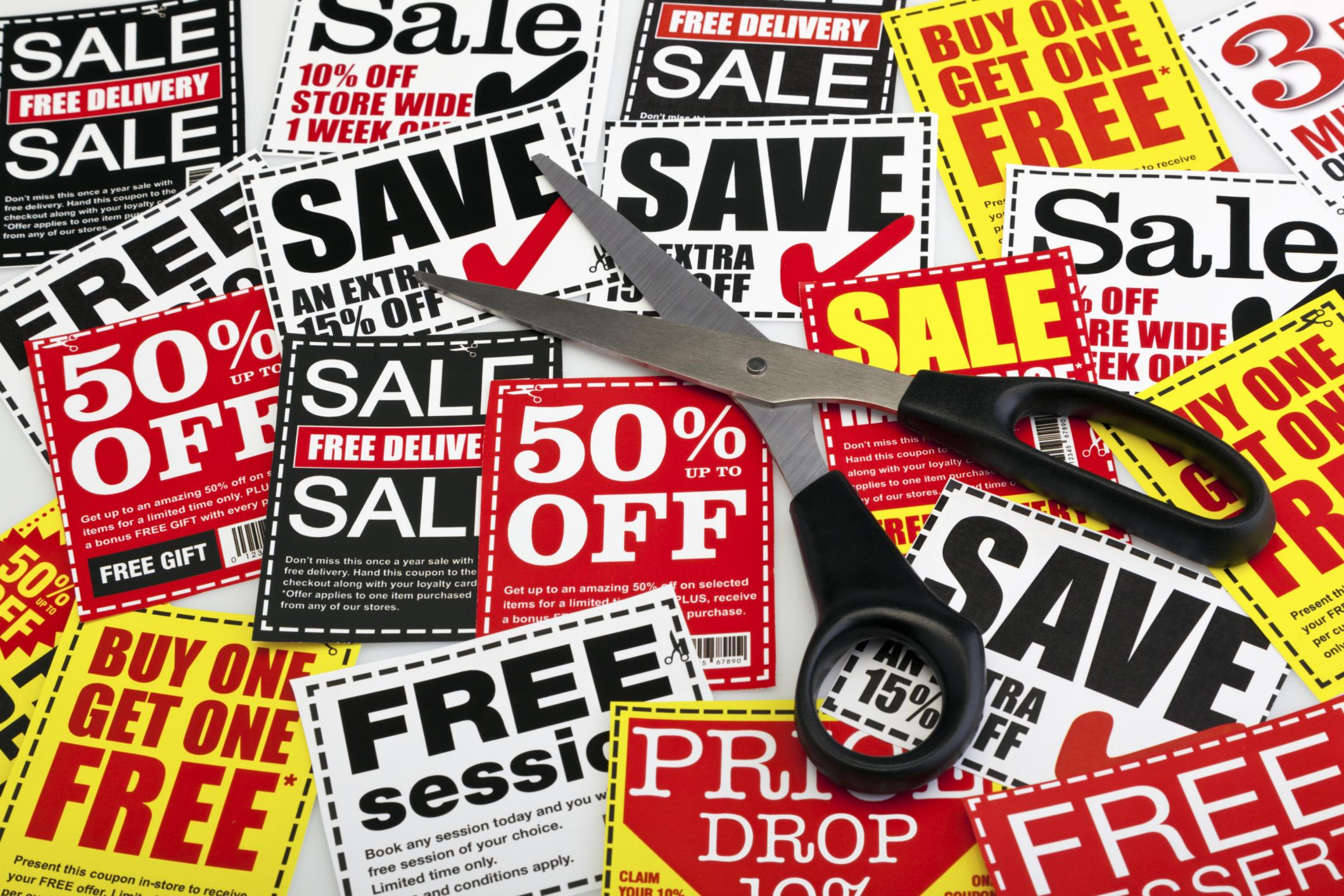 <p>The more time you have spare to spend looking for these, the more you can save.</p>  <p>It's worth following your favourite brands on Facebook or Twitter. It's also important to pick up in-house magazines, try your free local paper, and check any letters from supermarket loyalty schemes for your vouchers. If you have a Nectar card, visit the website before you shop, so you can upload the latest deals to your card.</p>  <p>While you're in-store, keep your eyes peeled for promotions on packets, and on receipts. Often the deal-hunting websites will offer a short cut to many of these, but if you have the opportunity to do some legwork, you will find plenty of others.</p>