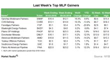 Top MLP Gainers in the Week Ending April 6