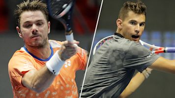 Wawrinka, Thiem reach St. Petersburg semis