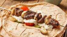 How to make BBQ shallot and lamb flatbreads