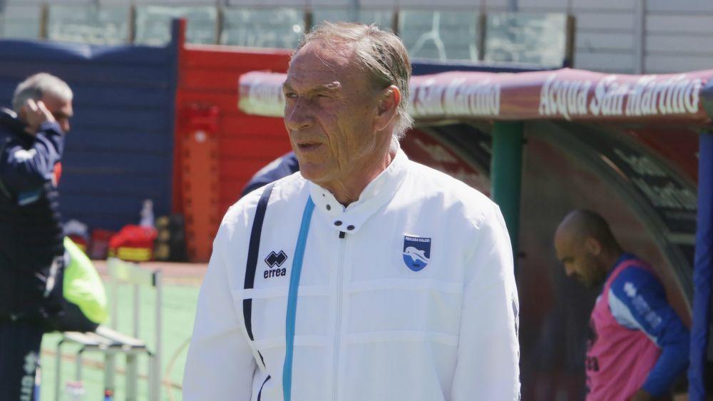 """Pescara, Zeman mai banale: """"Non mi pento della scelta. Complimenti a Conte"""""""