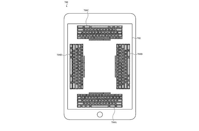 Apple patent application describes touchscreen keyboards you can feel