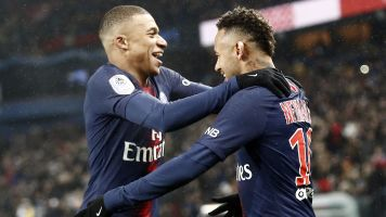 PSG's stars combine for eight goals in rout
