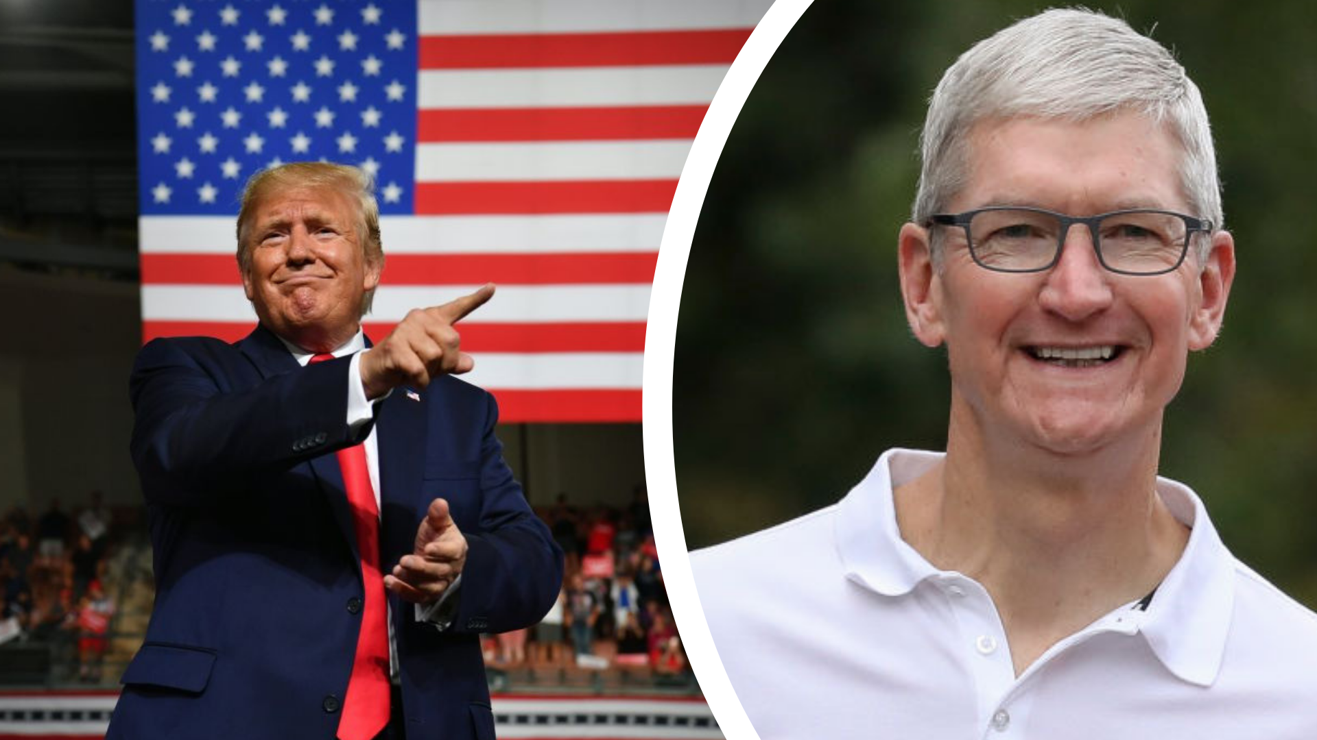 Tim Apple starts trending after Trump tweets about dinner with Apple CEO