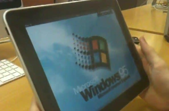 Windows 95 on iPad completes the Bill Gates vision (video)