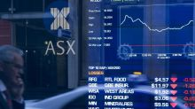 Aust shares fall back below 5,900