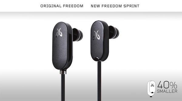 JayBird intros Freedom Sprint: the JF3 Bluetooth stereo fitness headset gets 40% smaller