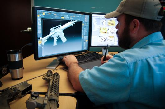 The Division shoots for realistic weapons from Tom Clancy studio