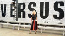 Versus Versace konnte nicht überzeugen: Lahme Designs, extrem dünne Models und eine glanzlose erste Reihe