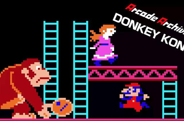 Arcade classic 'Donkey Kong' comes to the Nintendo Switch