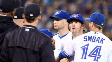 Blue Jays, Yankees have beanball back-and-forth, benches clear