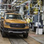 2019 Ford Ranger production starts this week outside Detroit