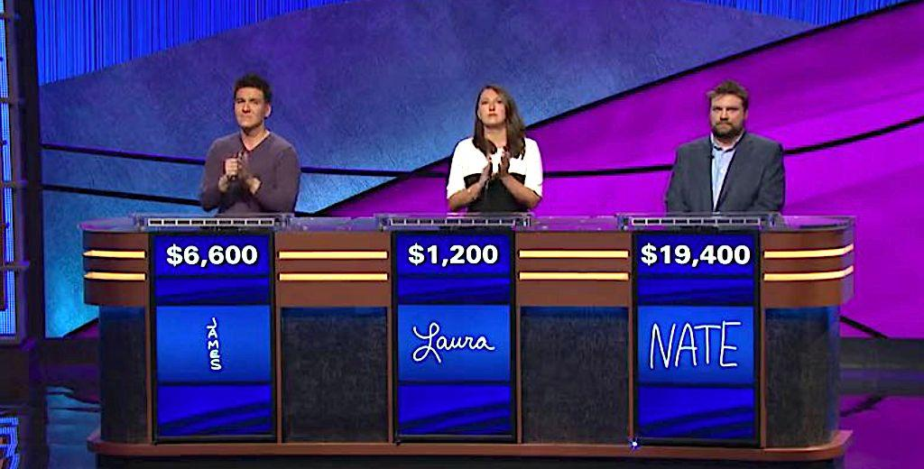 'Jeopardy!' Champ James Holzhauer Pushed To Brink Against Tough Opponent