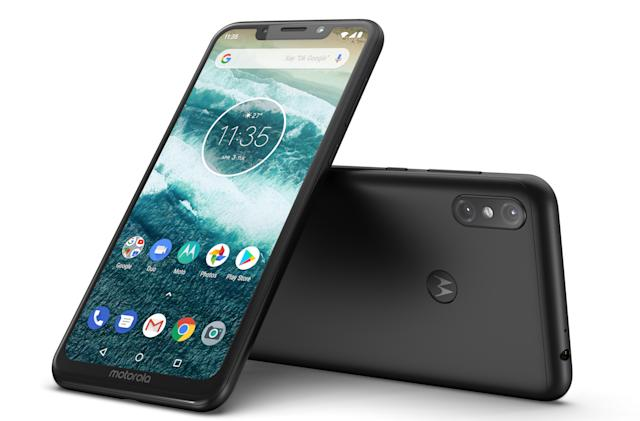 Motorola launches two notched Android One phones