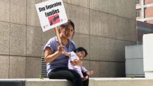 Protesters want more compassion for migrant children