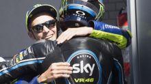 Valentino Rossi si sbilancia su Luca Marini ed Enea Bastianini