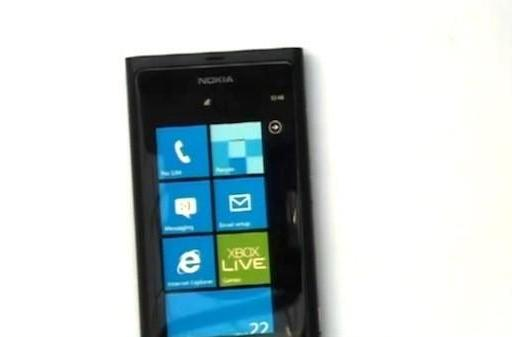 Nokia's first Windows Phone: images and video, codenamed 'Sea Ray'