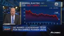 GE names leadership team for revamped power units