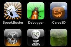 A handful of Halloween for your iPhone or iPod touch