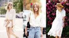 夏日防曬必勝法!6種白裇衫穿搭,讓你無懼UV紫外線傷害