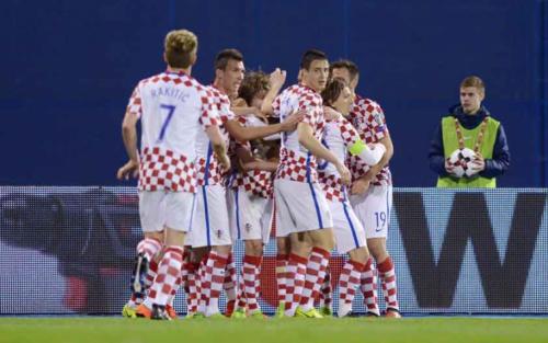 Croácia vence e dispara no Grupo I; País de Gales empata e se complica