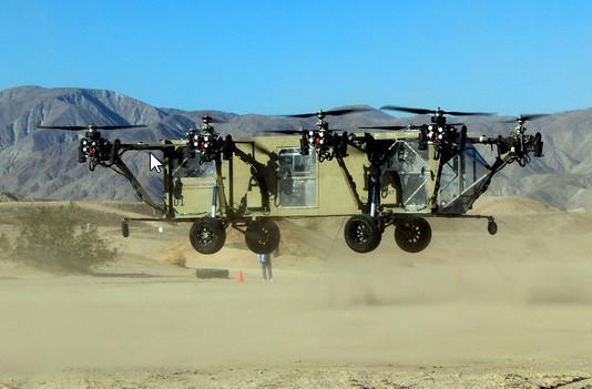 An autonomous octo-copter transport truck is as amazing as you'd expect