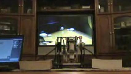 Lego robot designed to bowl perfect game, actually does
