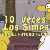 VIDEO: 10 veces que Los Simpsons predijeron el futuro tecnológico