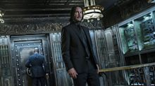 Keanu Reeves has to finish 'Matrix 4' before starting 'John Wick 4' causing year-long delay