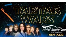 From 'Guardians of the Gums' to 'Tartar Wars': Movie-loving dentist's billboards go viral